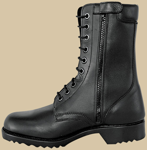 ARMY BOOTS C220 Black Zipper